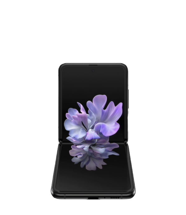 Samsung Z Flip Mirror Black